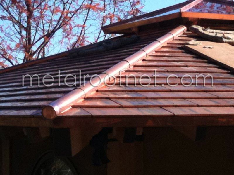 Best Copper Shingles On A Tea House In California Wine Country 400 x 300
