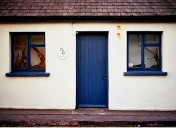 Tiny shop on West coast of Ireland. Photograph taken with an old Zenit 11 film camera. The colours this camera produces in itu0027s images simply canu0027t be ... & Tiny shop on West coast of Ireland. Photograph taken with an old ...