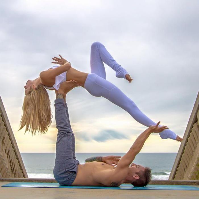 L\' acro yoga - un sport, un art, une pratique spirituelle - Archzine ...