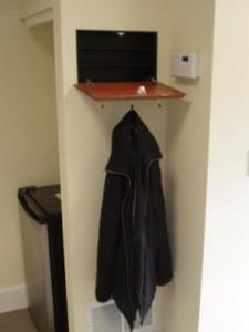 Secret Wall Safe Hidden Behind Coat Rack Secret And Secure Spaces