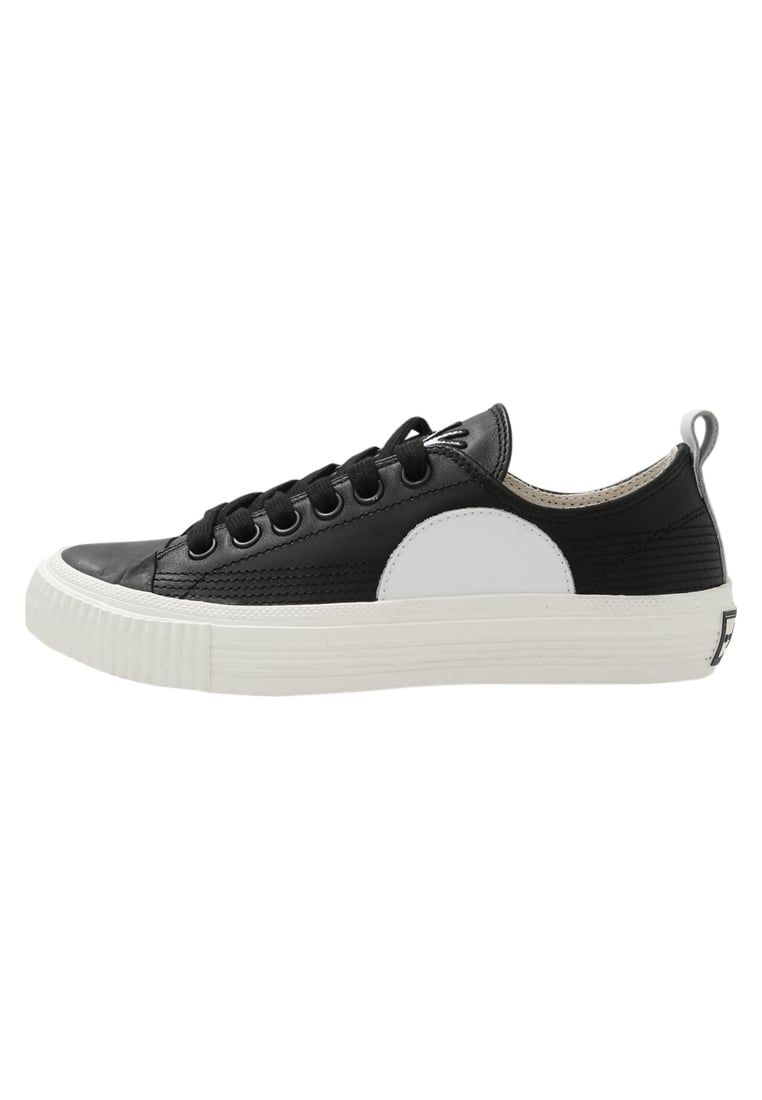 McQ Alexander McQueen PLIMSOLL LOW - Zapatillas black/ white