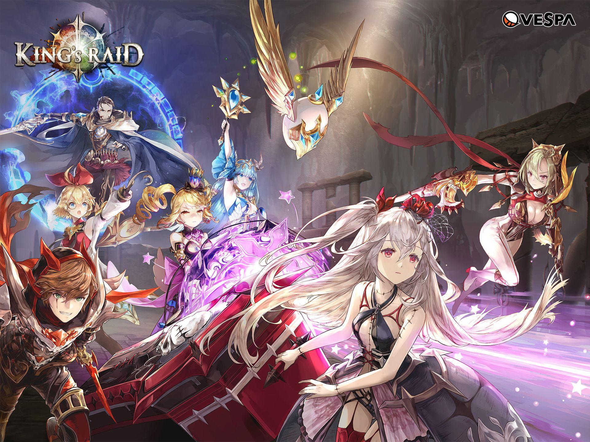 Image Result For King S Raid Anime Game Quai Vật