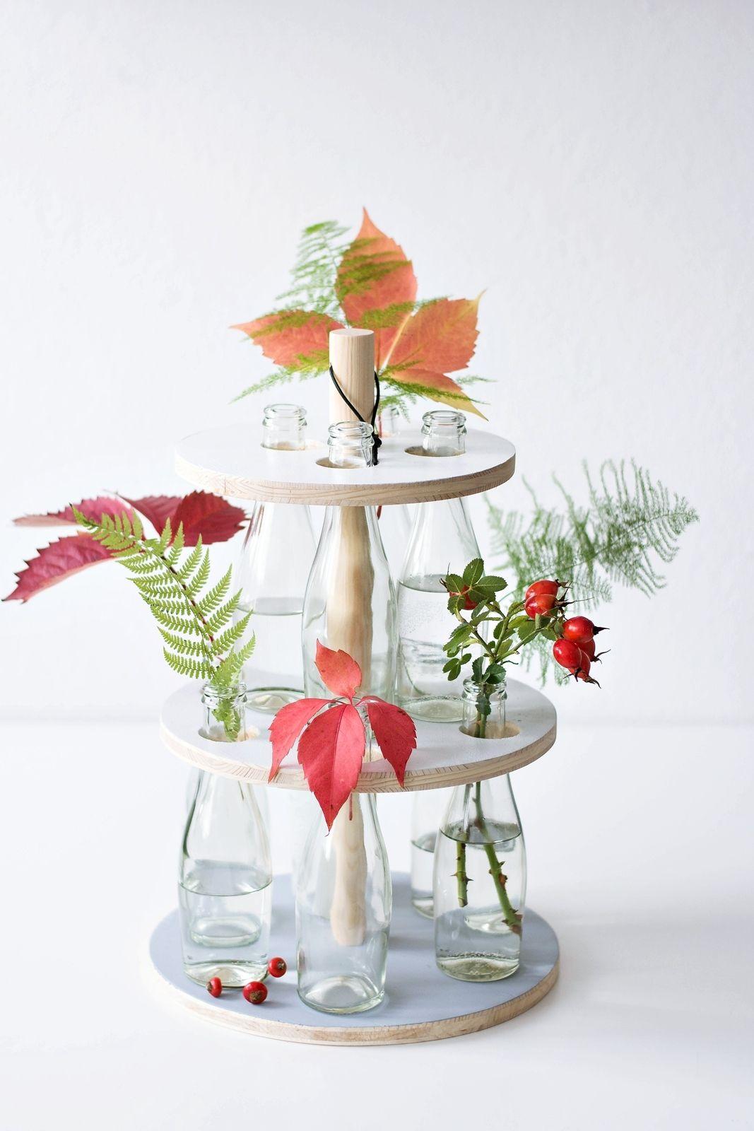 Bild von [Nachmachtipp] Flaschen Etagere – Berauschung der Sinne – Das kreative Heimwerken