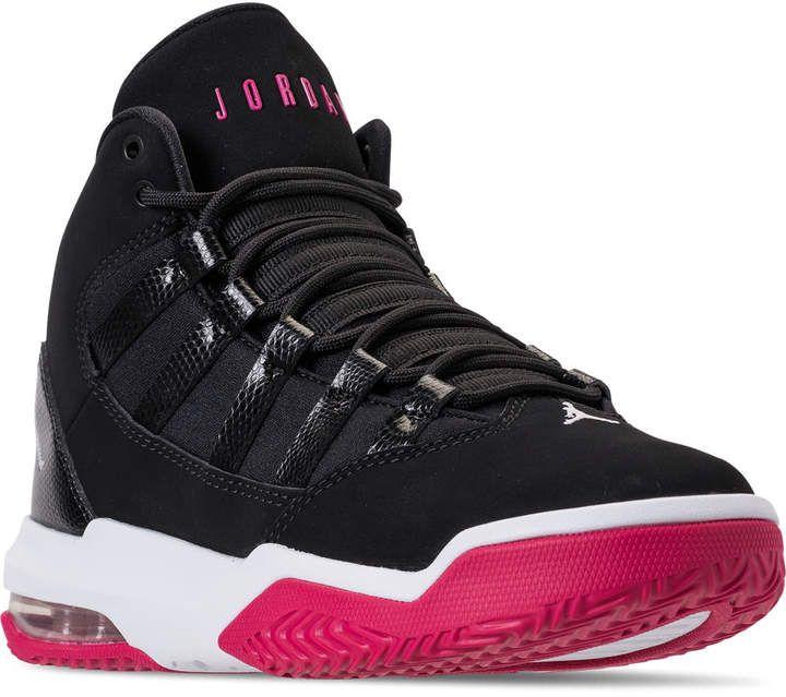 wholesale dealer 09c08 bf9e6 Nike Girls' Big Kids' Jordan Max Aura Basketball Shoes ...