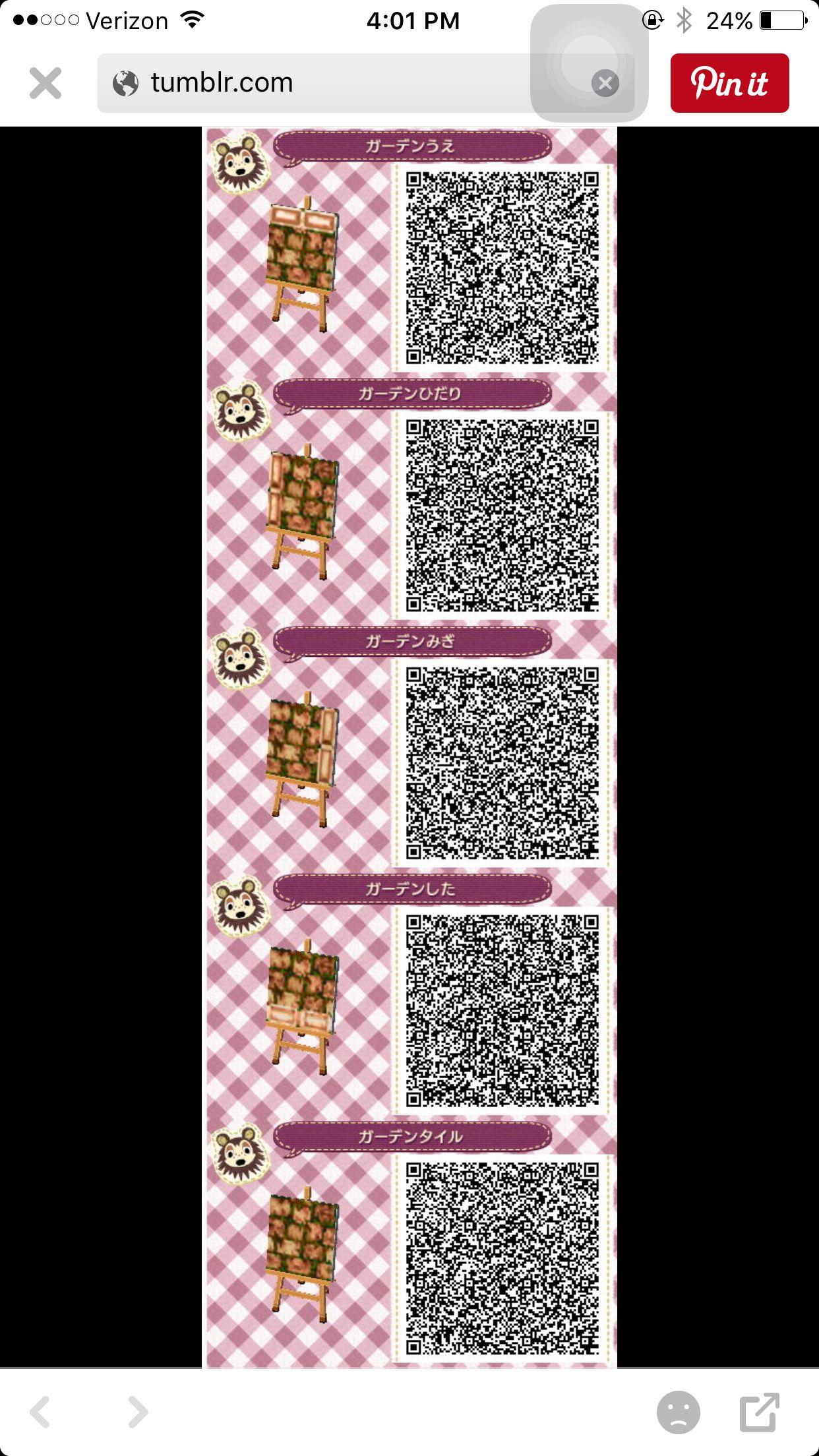 Rustic Brown Qr Path 2 3 Acnl Paths Animal Crossing Acnl