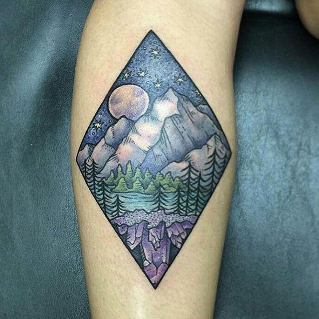 landscape tattoo 615 9444 561 615 nature tattoo pretty mountain okeechobee blvd 9pm. Black Bedroom Furniture Sets. Home Design Ideas