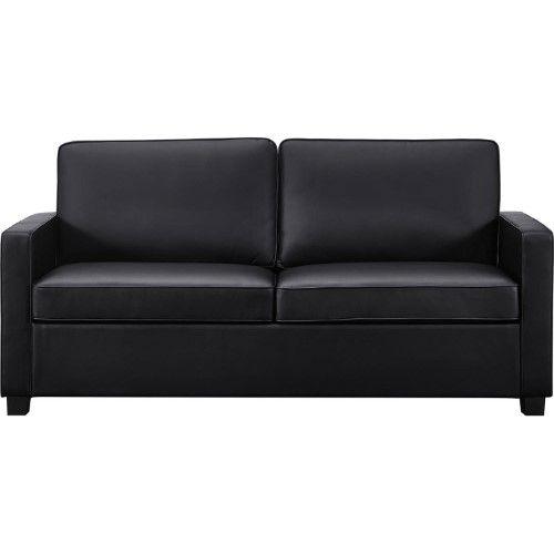 Galileo Cream Microfiber Queen Sleeper Sofa Naleigh Expandable Table Signature Sleep Casey Faux Leather Black