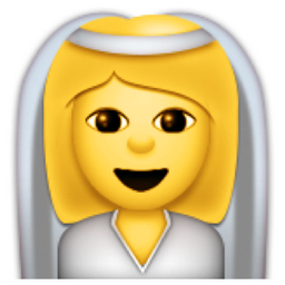 Bride With Veil Emoji U 1f470 Emoji Bride Short Wedding Hair