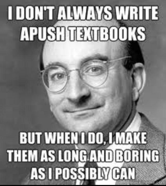 511cf03cf5df275f4f37e76870d2e4e8 alan brinkley the man who wrote our apush text book \u003ex