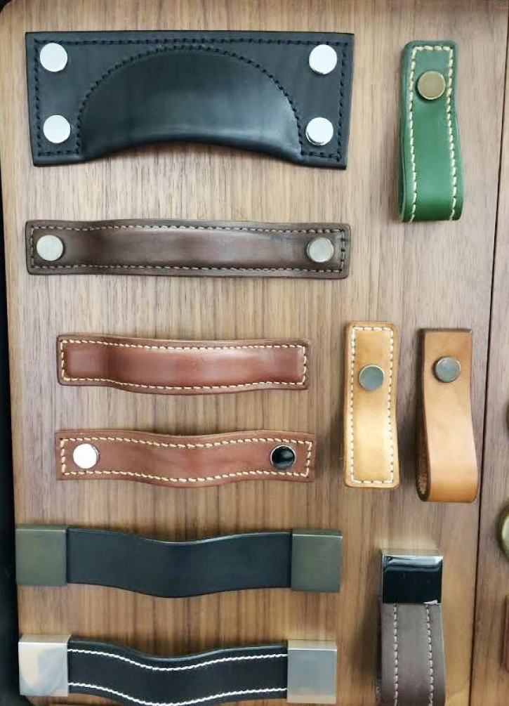 Turnstyle Designs- British company Leather cabinet hardware drawer ...