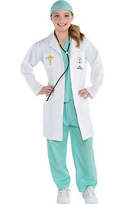 fca136c4943 Girls Doctor Costume … | Halloween in 2019…