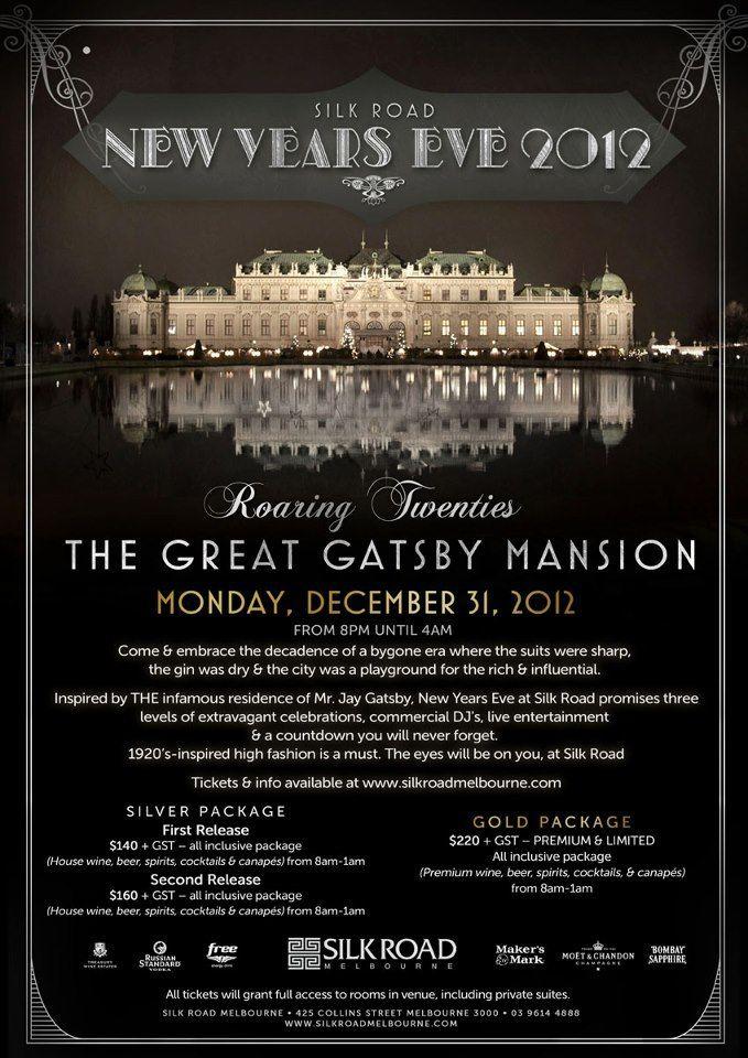 Event invite details | Roaring 20s Gala | Pinterest