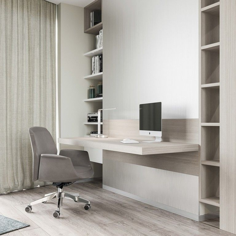 20+ Elegant Home Offices That Sport Simple But Stylish