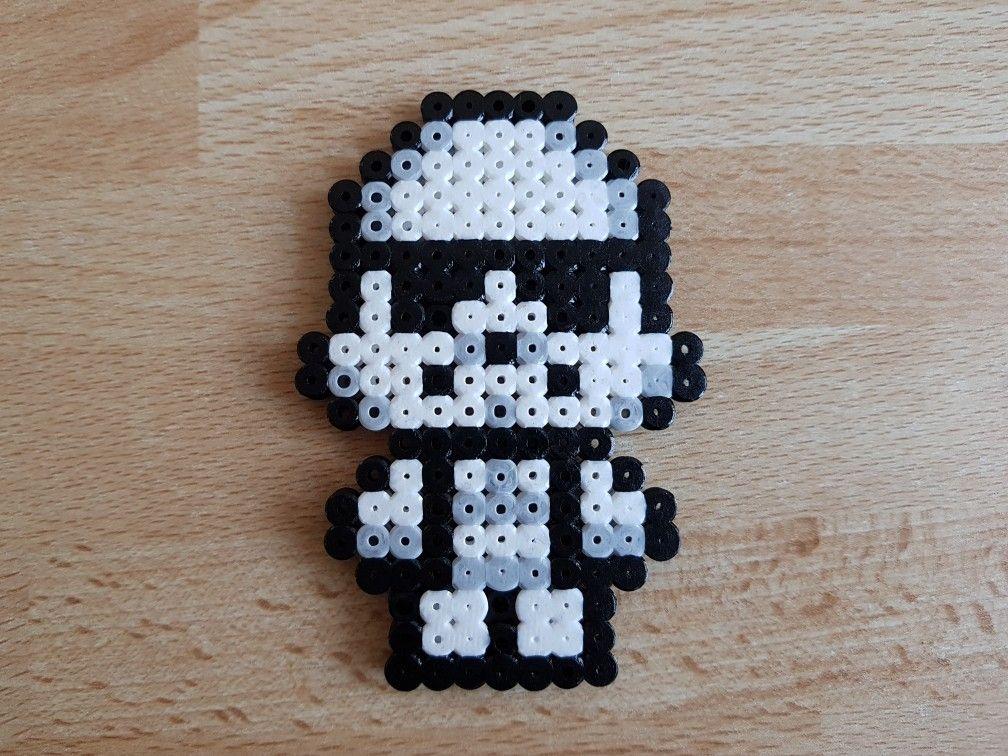 Stormtrooper Star Wars Perler Beads By Dcs8bit Mit Bildern