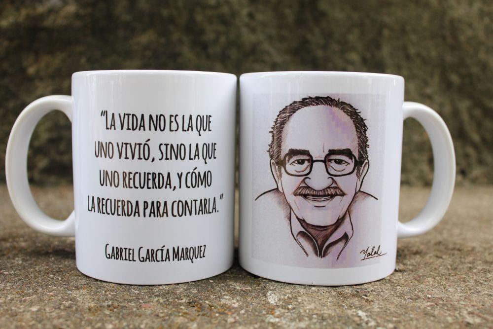 Taza Gabriel García Marquez