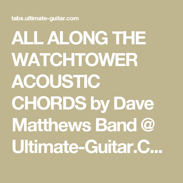 Dave Matthews Band Write A Song Tab Writing The Literature Review