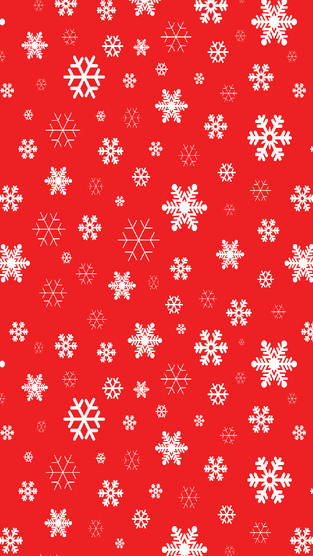 Red Snowflakes 01 Holiday Wallpaper Cute Christmas Wallpaper Christmas Wallpaper