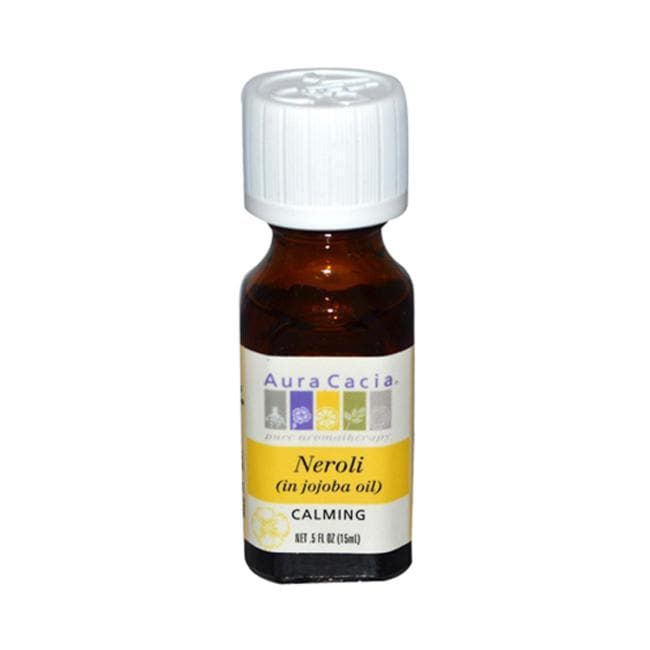 Aura Cacia Neroli (in jojoba oil)   0.5 fl oz Liquid   Essential Oils