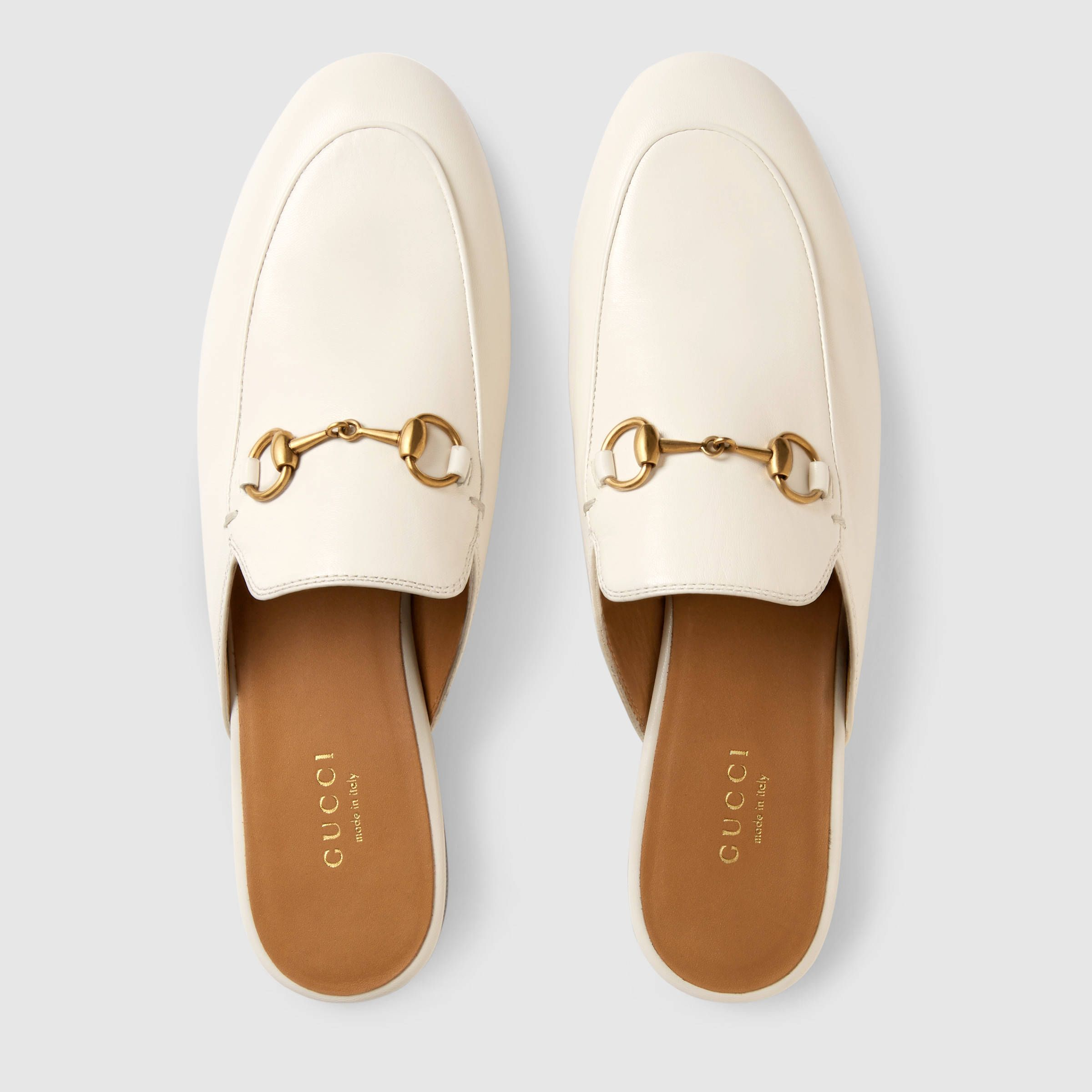 b7a06882595 Gucci Princetown leather slipper Detail 3