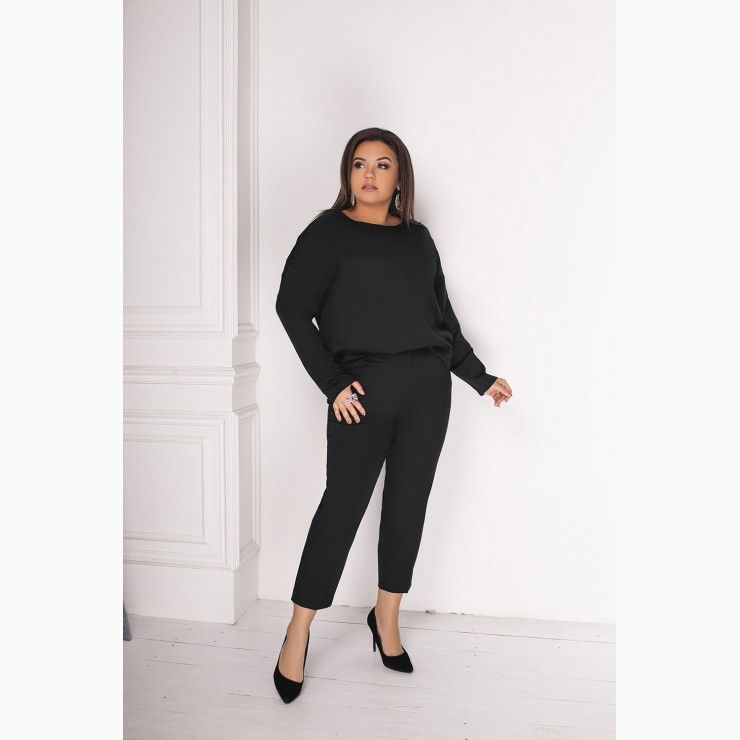 55a4005c60ea00 Set in two parts-black in 2019 | FASHION BAZAR | Fashion, All about ...