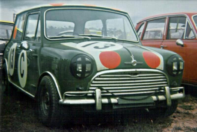 Gallaher 500 winning Cooper S (1966 photo)
