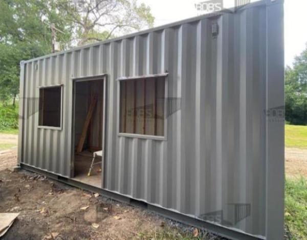 "Photo of DIY Kit – 20 ft Container Home – ""The Abilene"" Model"
