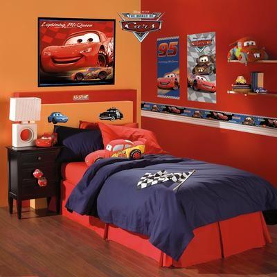 Disney deux affiches d coratives autocollantes - Dormitorios de cars ...