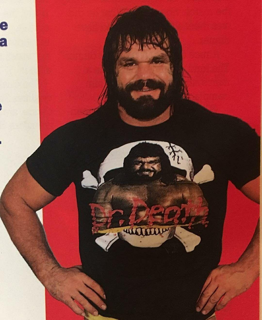 Dr Death Steve Williams World championship wrestling