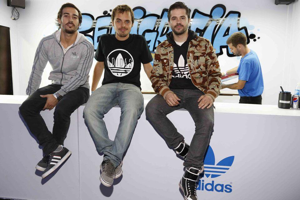Tres que dan que hablar: Nicolás Francella, Benjamín Rojas y Felipe Colombo, juntos en el festival - Revista HOLA