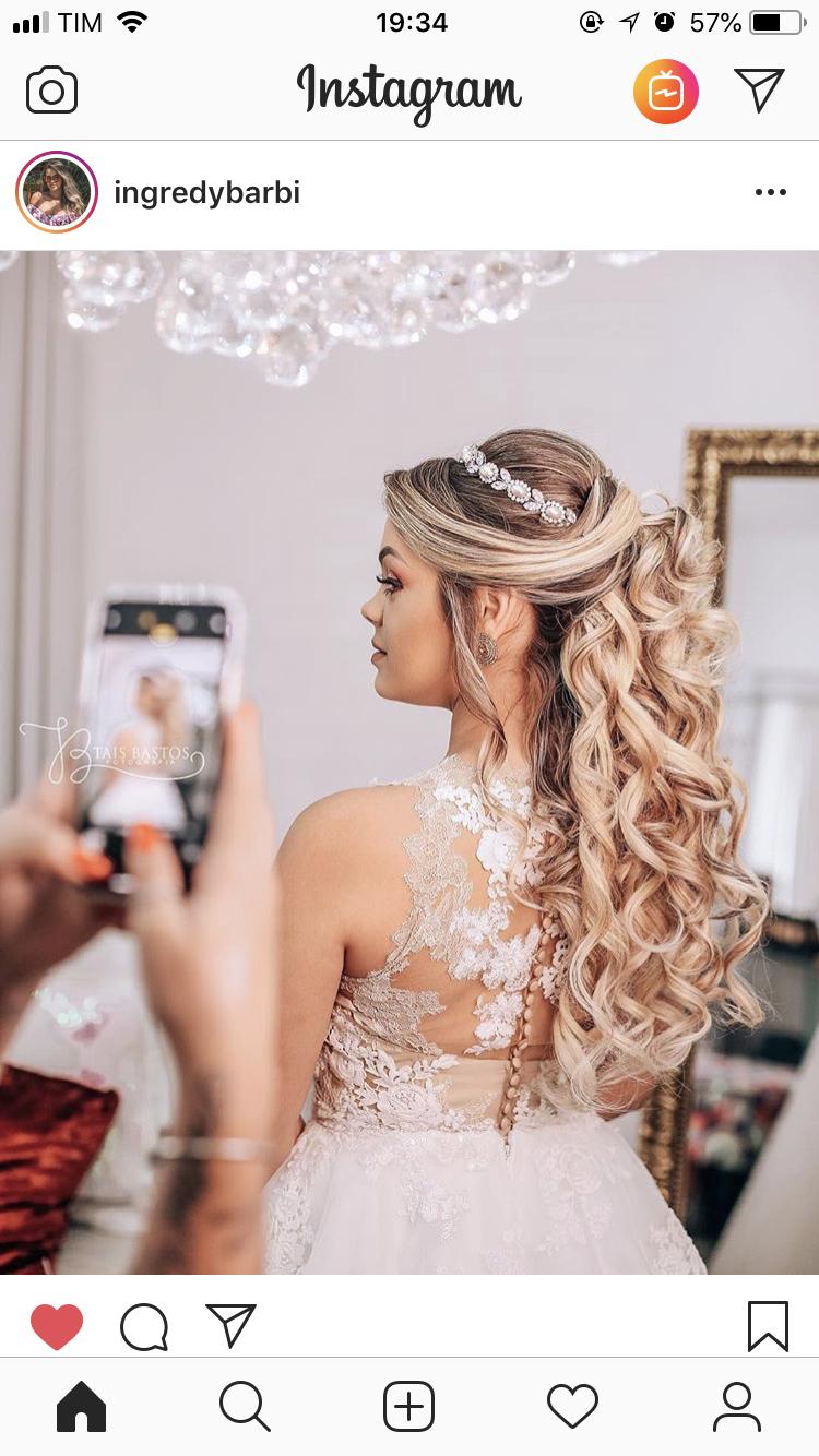 Pin De Alexandra Manila Em Hair Penteados Noiva Cabelo Longo Penteado Casamento Penteado Noiva