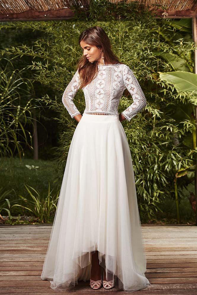 Robe de mariée sur mesure l Robe Bernica
