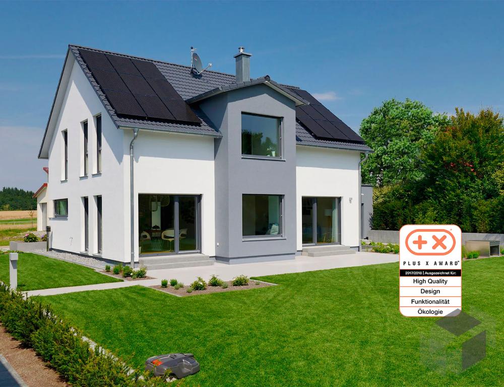 Dieses Und Viele Hauser Mehr Gibt Es Auf Fertighaus De Ihr Hausbau Aus Einer Hand Schnell Preiswert Und Von Gepruf House Styles House Plans House