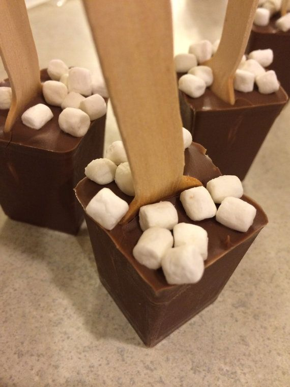 Marshmallow Milk Chocolate Hot Chocolate on by BellaRoseChocolates