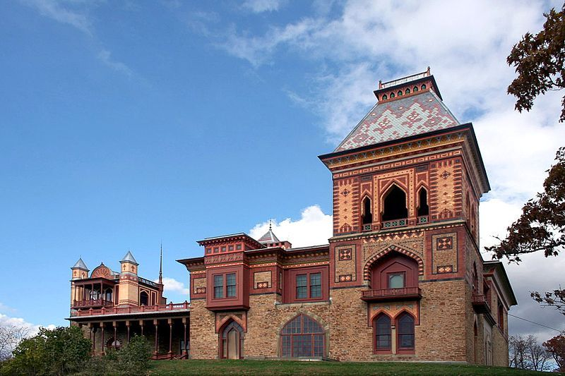 Olana The Home Of Frederic Church Open To The Public In Hudson