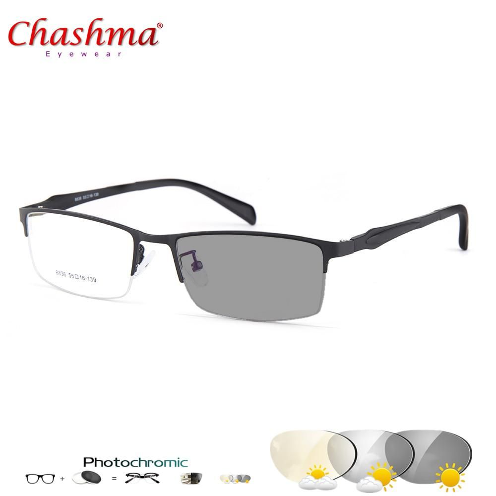 a65bf3f706aa CHASHMA Transition Sunglasses Photochromic Reading Glasses for Men  Hyperopia Presbyopia with diopters Outdoor Presbyopia Glasses.