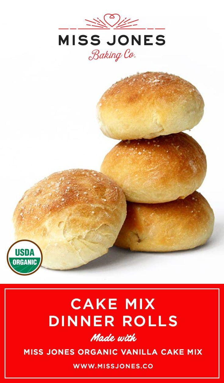 Cake mix dinner rolls recipe miss jones baking co brot