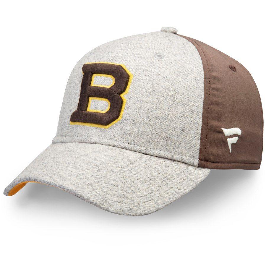 the best attitude c41ed 442bb Men's Boston Bruins Fanatics Branded Gray/Brown 2019 Winter ...