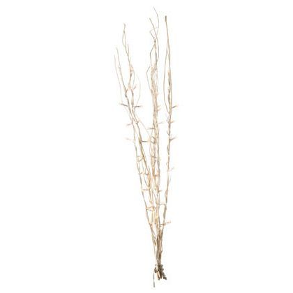 pre lit bleached twigs 80cm at homebase be inspired and make