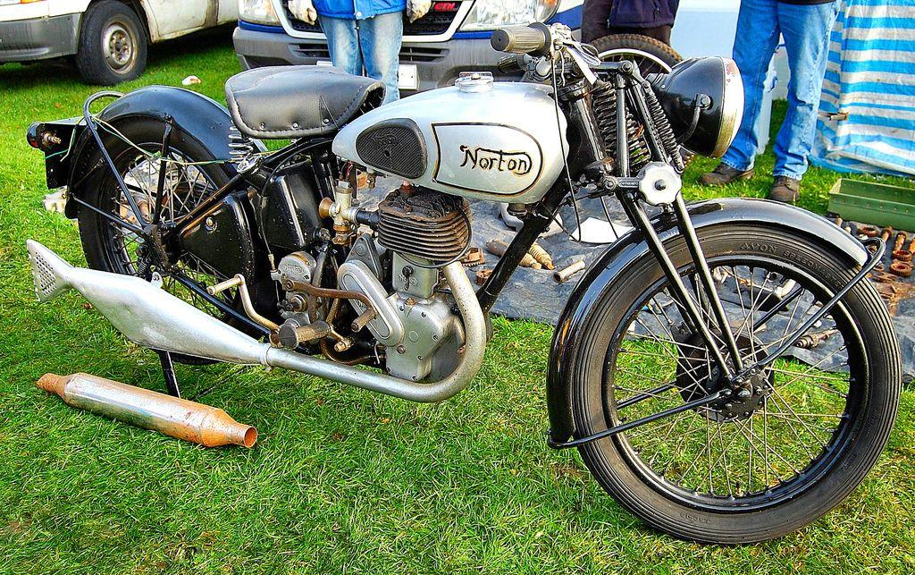 Norton 16h Uk 500cc Single 1940s 50s Norton Vintage Bikes British Motorcycles