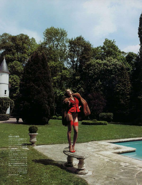 Ravishing Sequined Gowns : Red Star Vogue Nippon August 2010