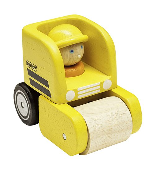 Handy Road Roller From Pintoy from The Wooden Toybox  sc 1 st  Pinterest & Handy Road Roller From Pintoy from The Wooden Toybox | Baby ... Aboutintivar.Com