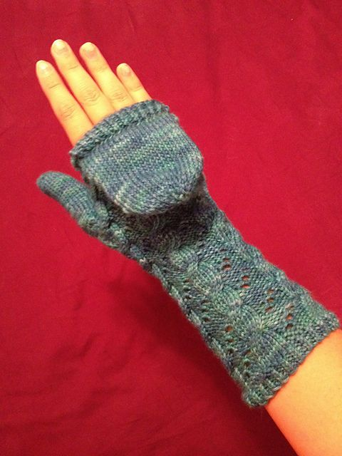Ravelry: Hermione\'s Flip-Top Mittens pattern by 4mpersand | I\'d knit ...