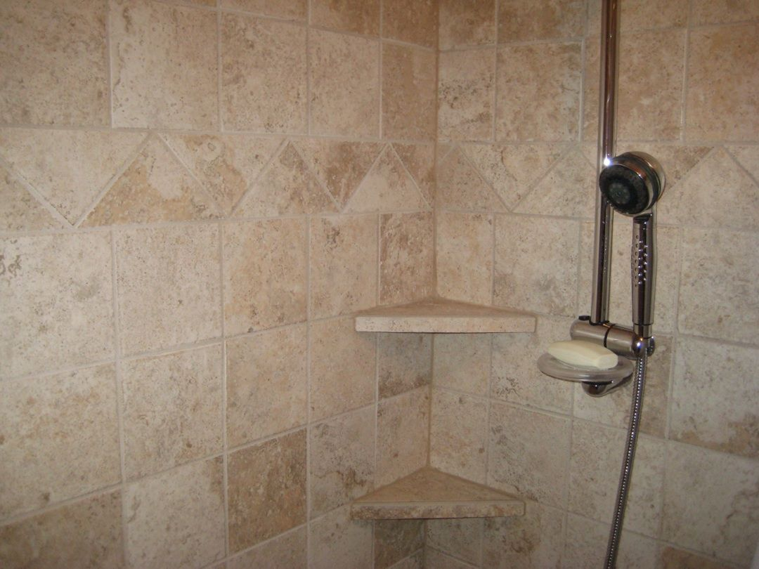 Pin by Tina Borchardt on House | Stone shower, Tile shower ...