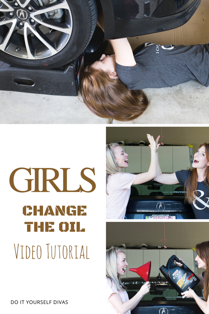 Do it yourself divas how to change the oil in your car two sister do it yourself divas how to change the oil in your car two sister solutioingenieria Image collections