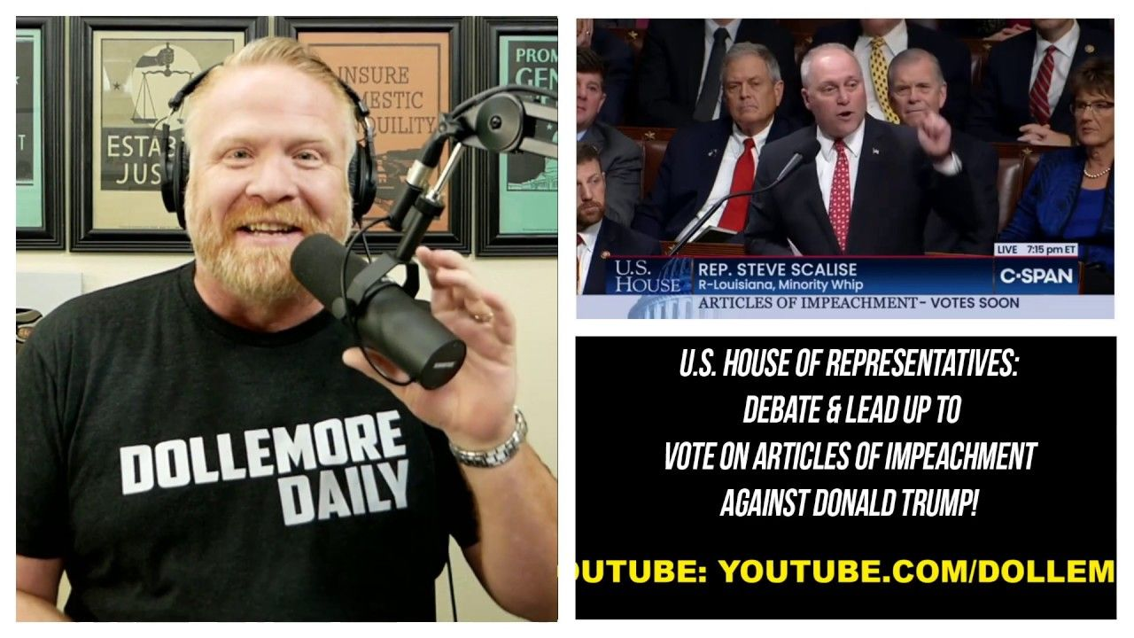 IMPEACHMENT VOTE Live Stream - Let's ...