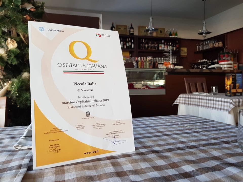We Are Really Excited We Have Been Winner Of The Award Ospitalita Italiana Ristoranti Italiani Nel Mon Italian Restaurant Italia Restaurant Italian Dishes