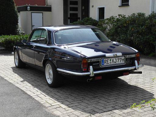 Luxury Vehicle: Jaguar XJ 12 Coupé