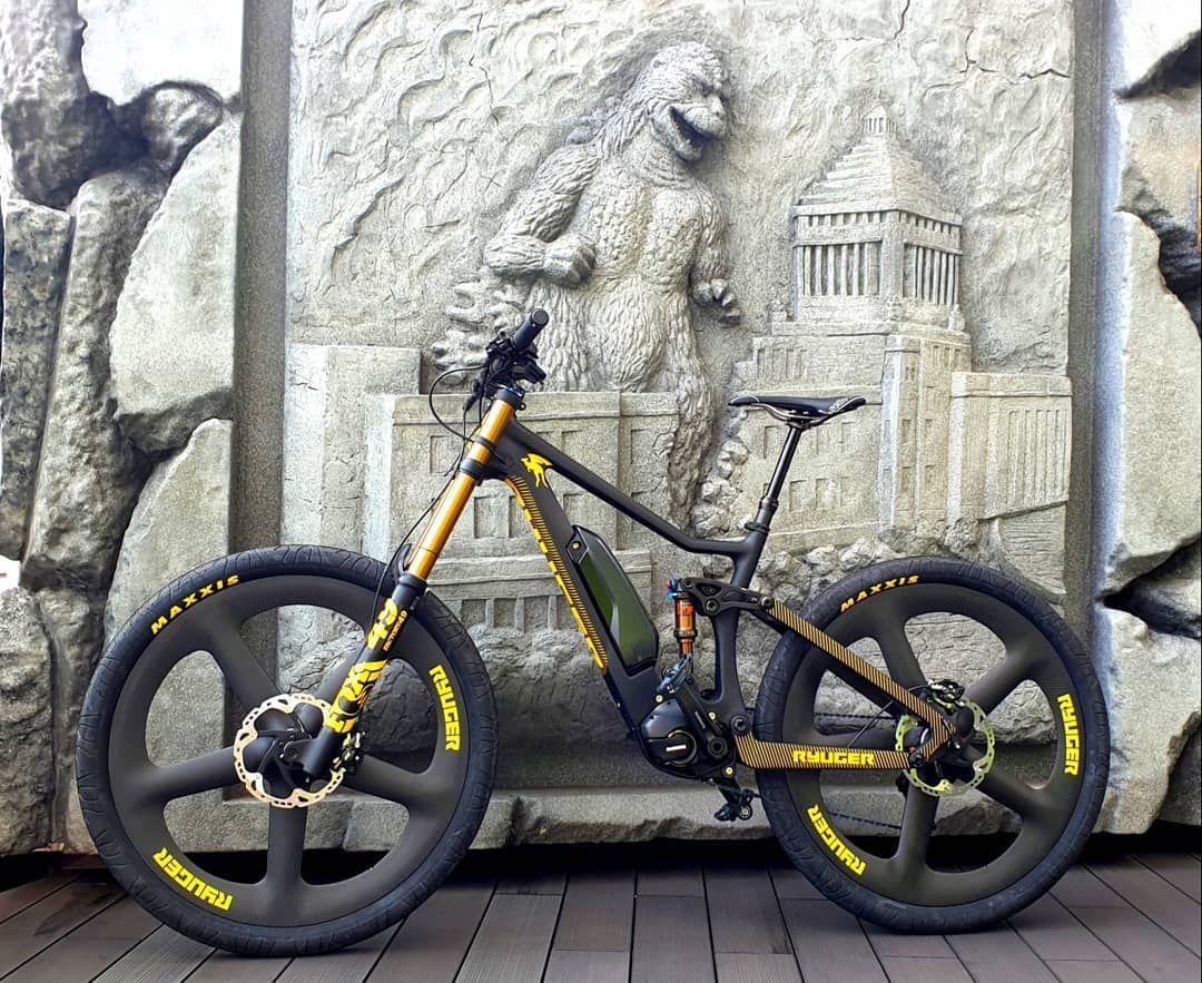 Composite Carbon Ebikes Built By Ryuger Bikes Ebike Bike Magazine Electric Mountain Bike