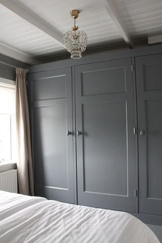 inbouwkastenwand slaapkamer pinterest bedrooms master bedroom and cupboard