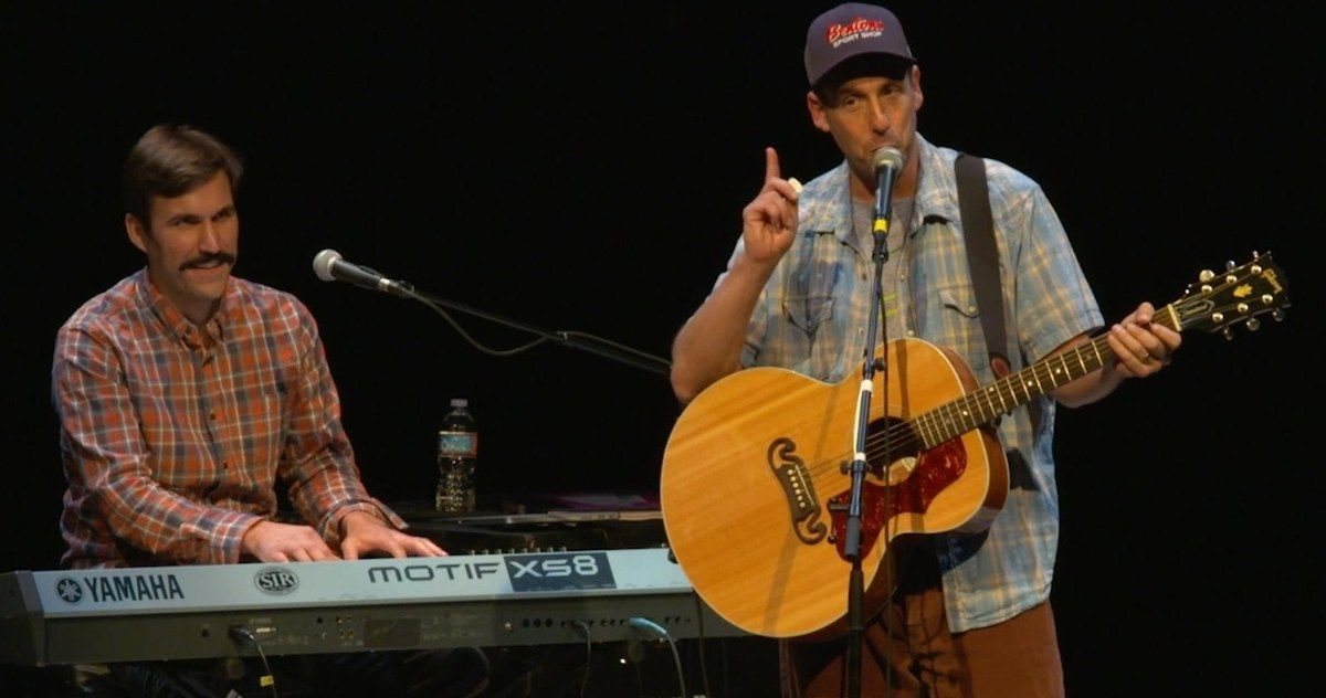 Watch Adam Sandler Sing New Version of the 'Chanukah Song' -- Adam Sandler has officially released 'Chanukah Song Part 4' just in time for the Thanksgiving Holiday. -- http://tvweb.com/news/chanukah-song-part-4-video-adam-sandler/